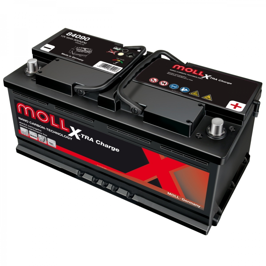 Аккумулятор Moll X-TRA CHARGE 90