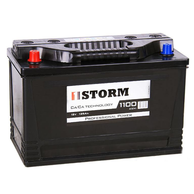 Аккумулятор STORM ASIA 125 L JCB