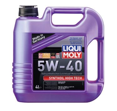 Масло моторное LIQUI MOLY Synthoil High Tech 5W-40 4л 1915