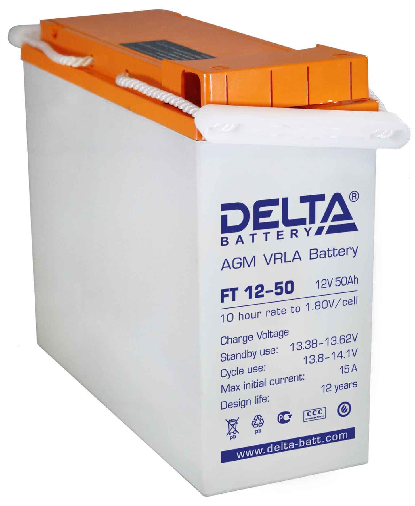Аккумулятор Delta FT 12-50