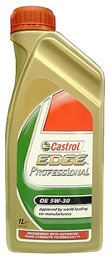 Масло моторное Castrol EDGE LL TITANIUM FST 5W30 1л 15667C