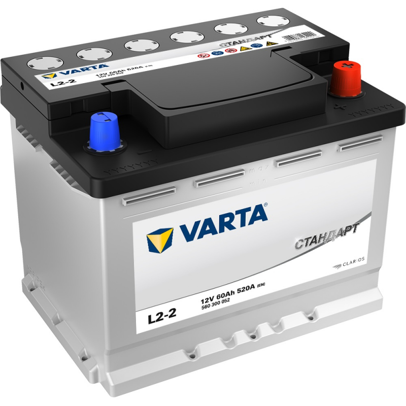 Аккумулятор VARTA Standart 6СТ 60 L2-2 100370