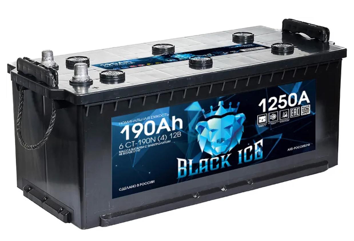 Аккумулятор BLACK ICE 6СТ-190.4 (Tungstone)