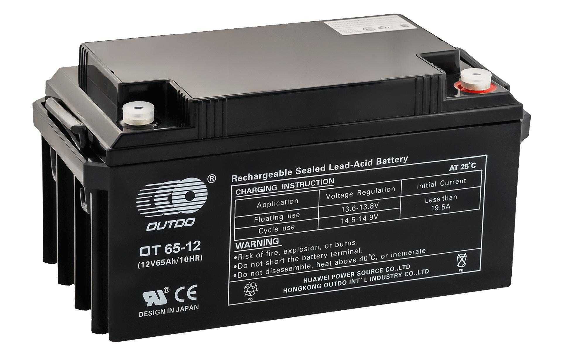 Аккумулятор OUTDO VRLA 12v 65Ah (OT65-12)