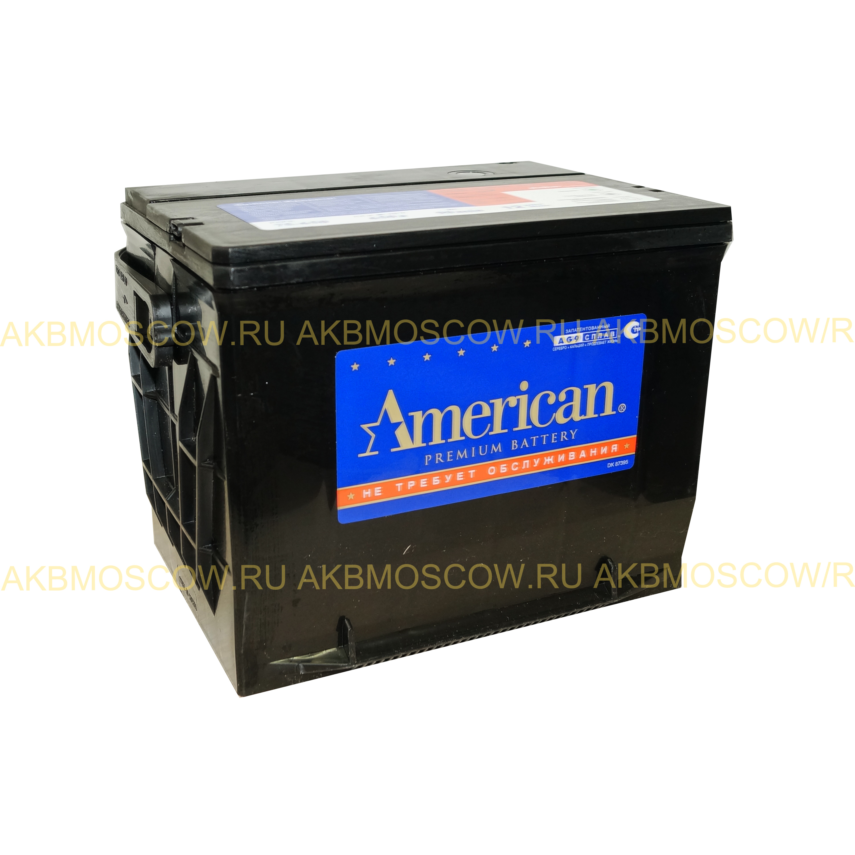 Аккумулятор American 75-650