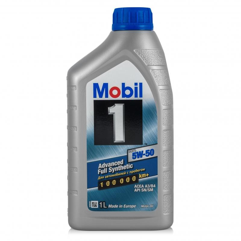 Масло MOBIL 1 FS X1 5W50 моторное синтетическое 1 л