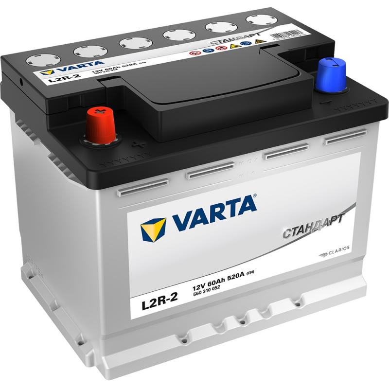 Аккумулятор VARTA Standart 6СТ60 L2R-2 100371