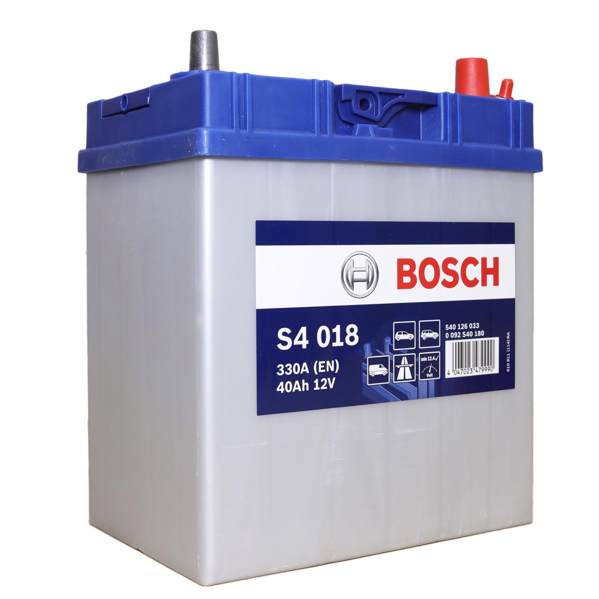 Аккумулятор Bosch S4 (018)