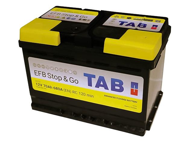 Аккумулятор TAB EFB Stop&Go 70 57088 212070 837530