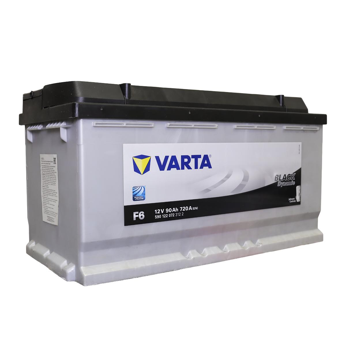 Аккумулятор Varta Black Dynamic F6 590 122 072