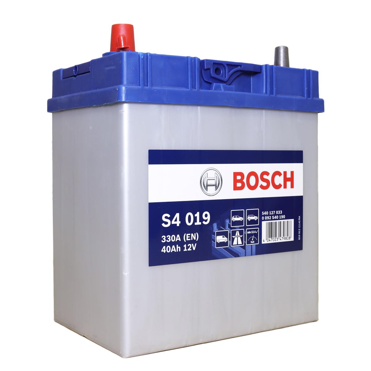 Аккумулятор  Bosch S4 (019)
