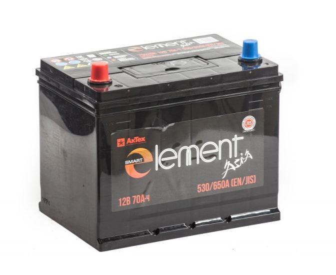 Аккумулятор Smart Element Asia 6ст-70.0 обр. (75D26R)