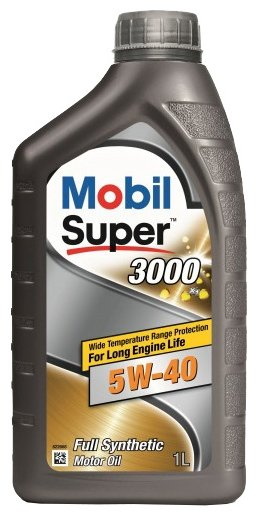 Масло моторное MOBIL 1 SUPER 3000 X1 5w40 1л 152567