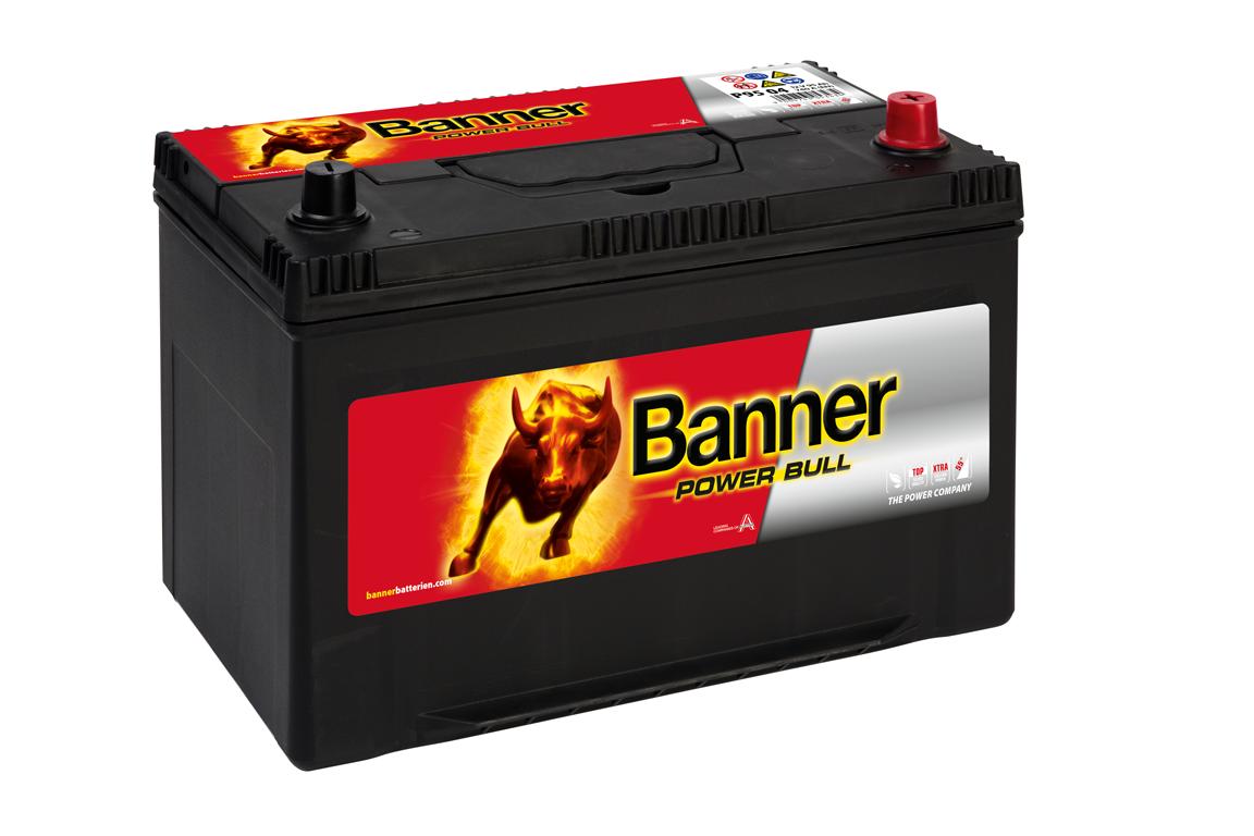 Аккумулятор BANNER Power Bull ASIA 95 04