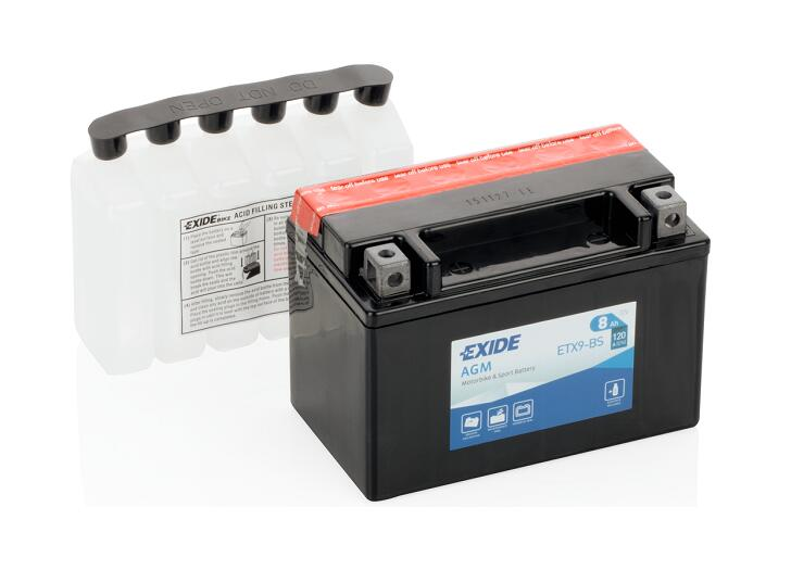 Аккумулятор Exide ETX9-BS YTX9-BS