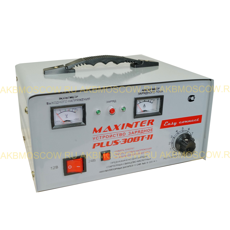Пуско-Зарядное устройство MAXINTER PLU-30 BT-11