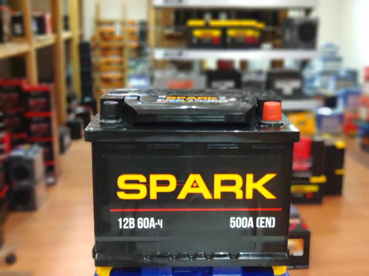 Аккумулятор Spark Element 6СТ-60.0 VL3 обр.