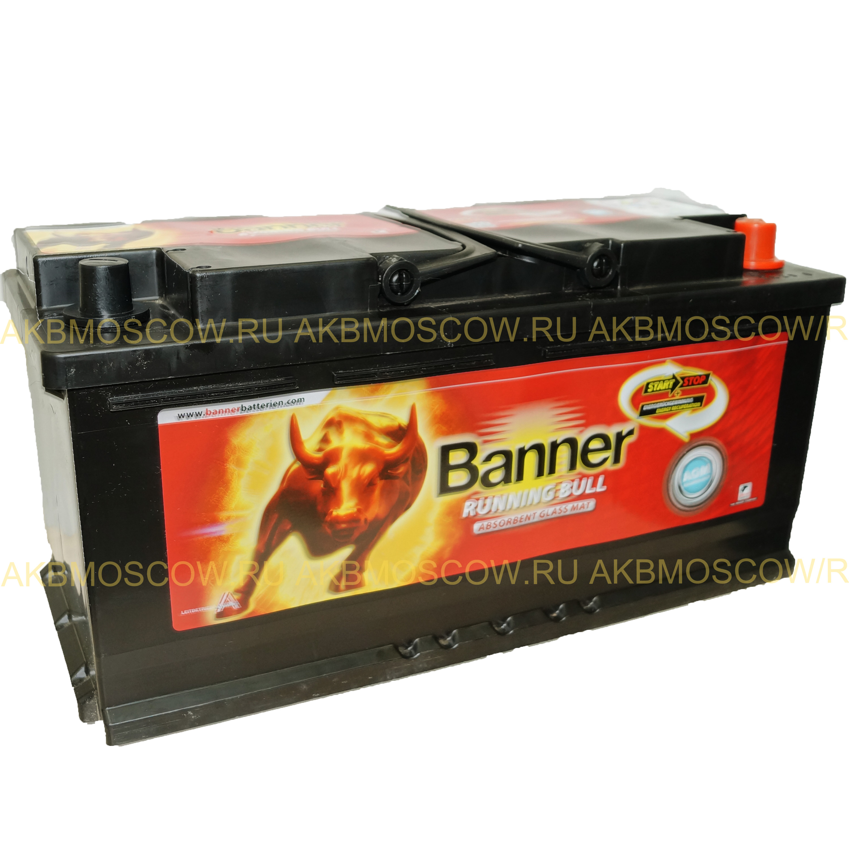 Аккумулятор Banner Running Bull AGM 105 60 501