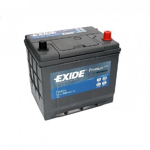 Аккумулятор Exide EA654 по низкой цене с доставкой по всей России | Интернет-магазин AKBMOSCOW