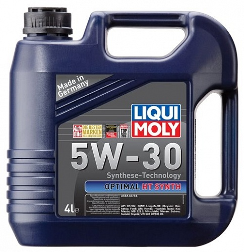 Масло моторное LIQUI MOLY Optimal HT Synth 5W-30 NEW 4л 39001